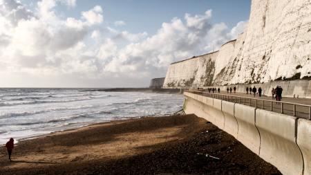 pexels rue hazell Brighton under cliff walk