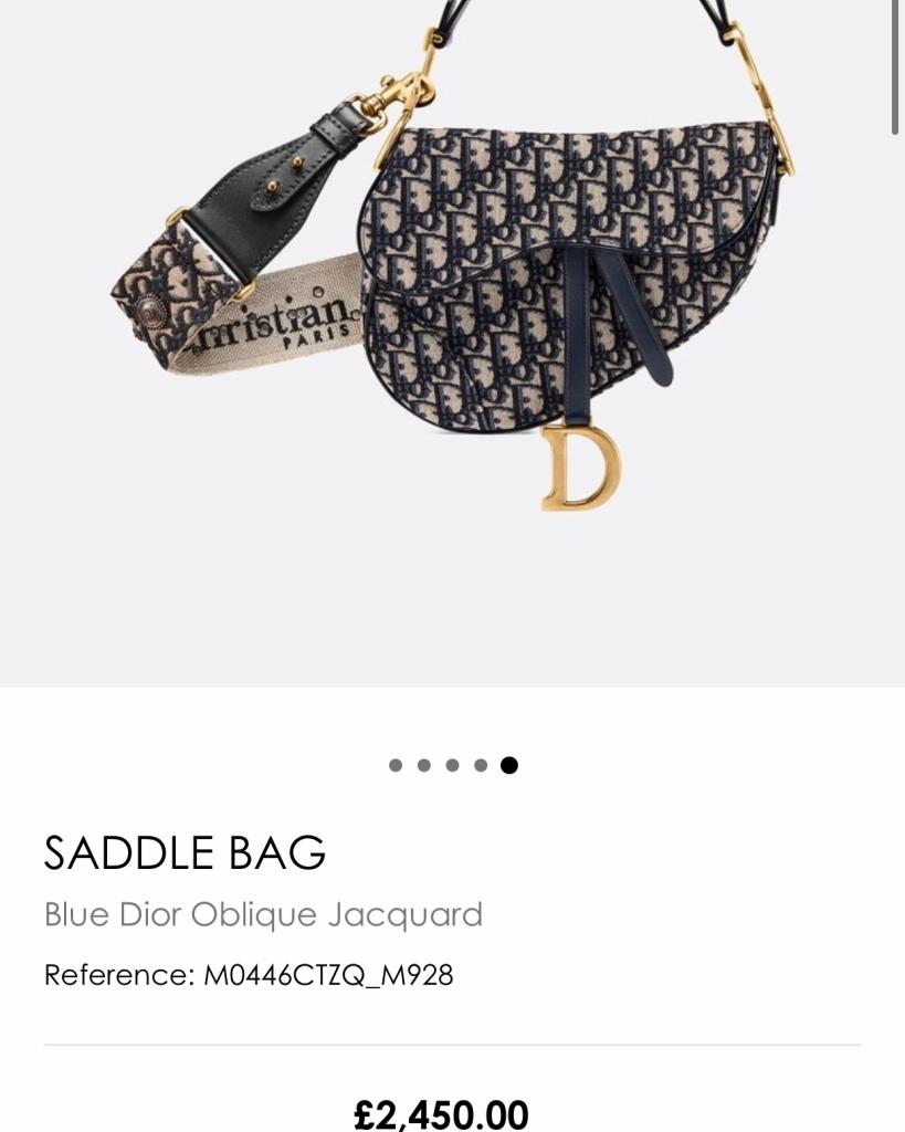 saddle bag monogram