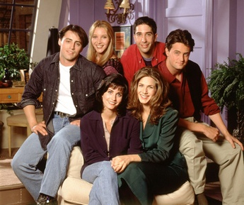 Friends cast, first season