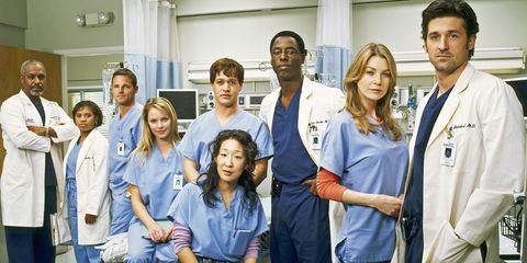 The original Grey's Anatomy cast