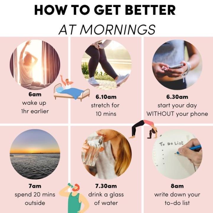 Saturday Wellbeing Mornings6-3-2021