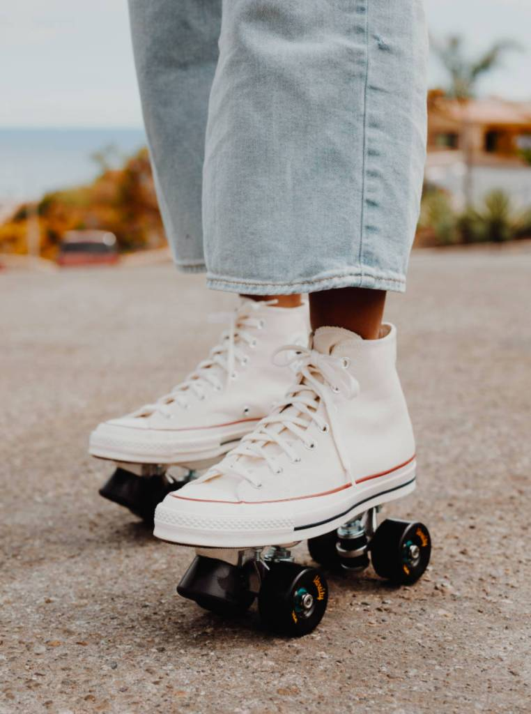 feel your soul converse roller skates